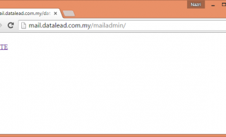 Pasang Mail Server Bahagian 6 – Postfix, Courier, MySQL & AfterLogic WebMail